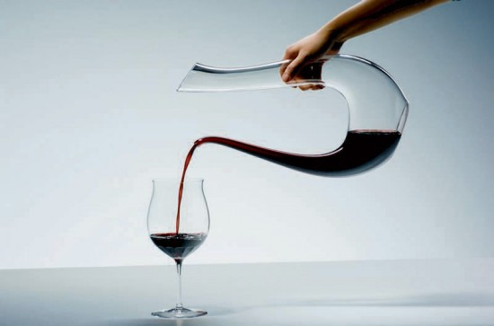carafe design pour le vin