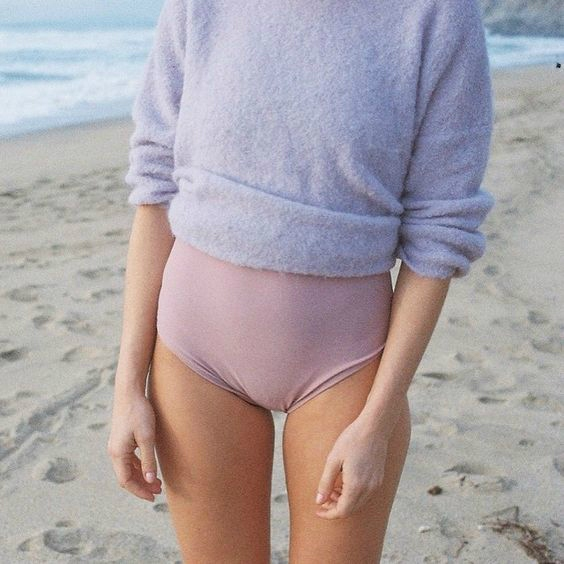 Nude Pink Swimsuit