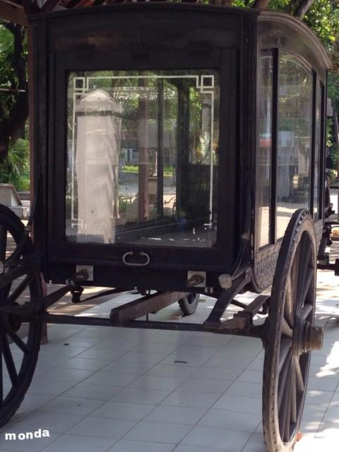 Kereta Jenazah - Museum Taman Prasasti