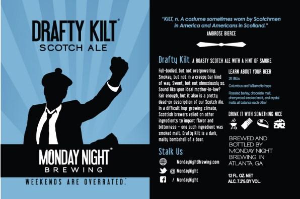 Drafty Kilt Label