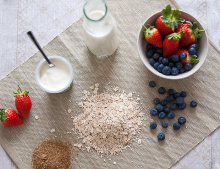 Summer Berries Porridge Smoothie