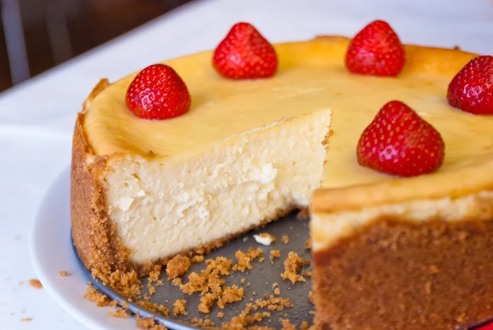 New York Cheesecake Recipe 1