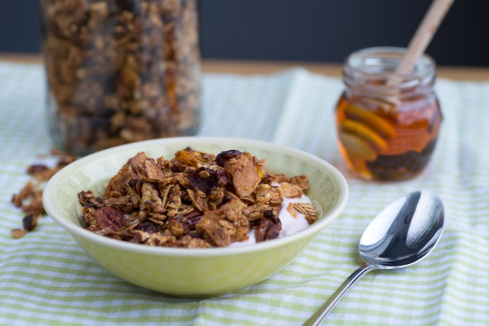 Homemade Honey Granola | Recipe by Mondomulia