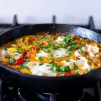 Shakshuka from Yotam Ottolenghi Plenty Cookbook