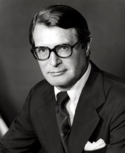 The late Elliot Richardson, under secretary of state under Nixon in 1969