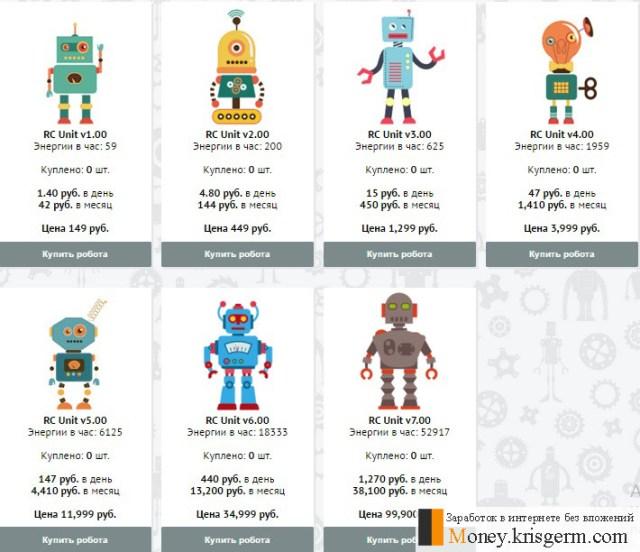 Магазин Robot Cash