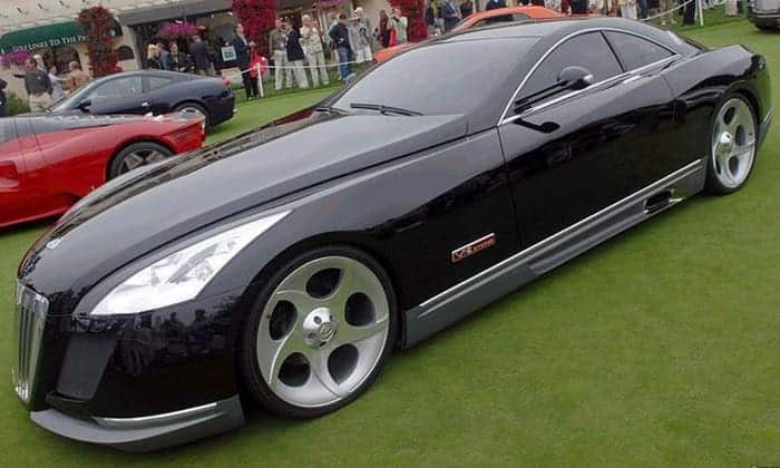 Top 20 most expensive cars in the world for Mercedes benz maybach exelero