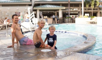 Our Staycation at the Embassy Suites by Hilton Waikiki Beachwalk  (and Luke's State Championship)