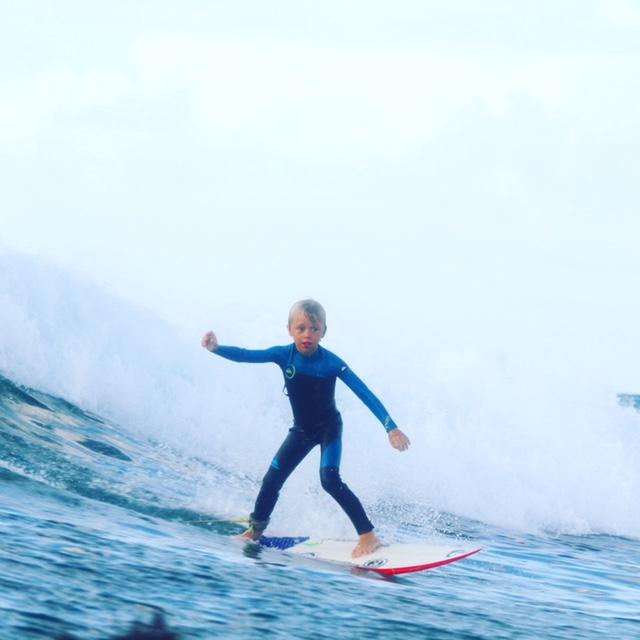 Levi Swanson surf