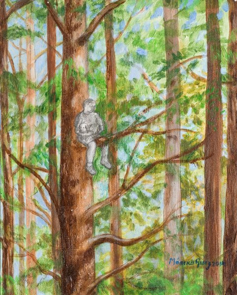 Monika Ruiz Art – Boo's Tree