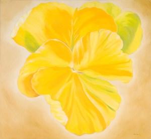 Monika Ruiz Art - Gloria Yellow Pansie