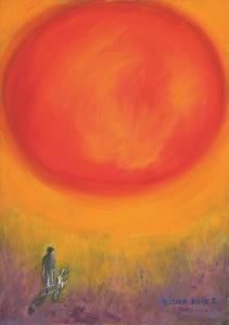 Monika Ruiz Art - Jay&Boo Talking To The Sun