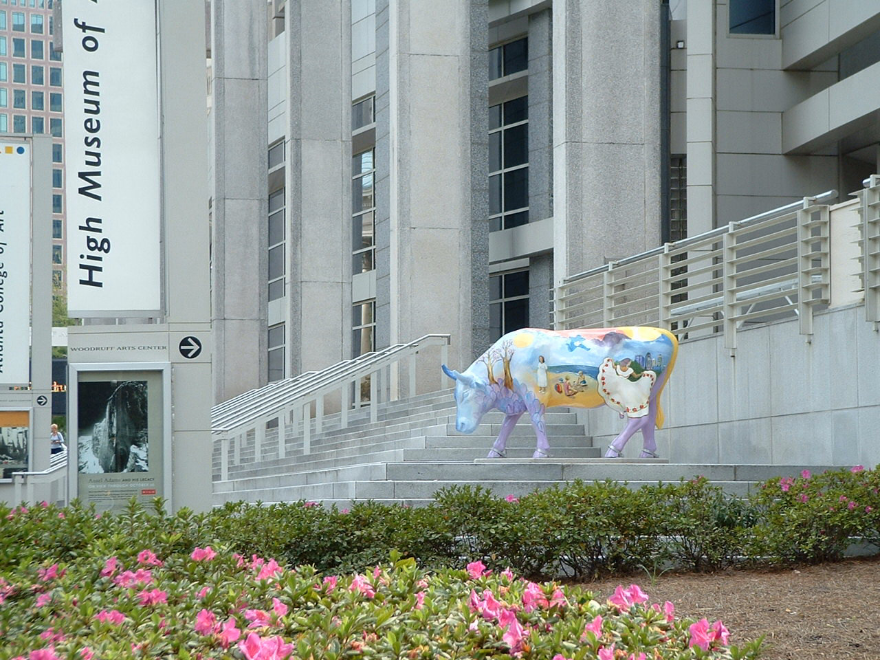 Monika Ruiz's Matilda sculpture at High Museum of Art Atlanta