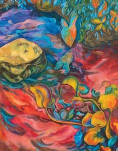 Monika Ruiz Art - Red Water