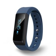 Diggro i5 plus Bluetooth Smart Bracelet Watch Wristband Sports Fitness Tracker Pedometer Step Counter Tracking Calorie Health Sleep Monitor for Android IOS (Blue)