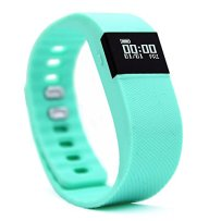 Activity Tracker,NewYouDirect Fitness Tracker Smart Watch Smart Band Wireless Bluetooth Sleep Monitor Wristband Running Pedometer Exercise for Android 4.3 IOS 7.0 (Mint Green)