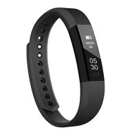 Fitness tracker, LINTELEK Smart Fitness Wrist Band with Step Tracker Calorie Counter Sleep Pedometer Activity Tracker Touch Screen Smart Bracelet for iPhone Android Smartphone