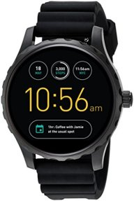 Fossil Q Marshal Gen 2 Touchscreen Black Silicone Smartwatch