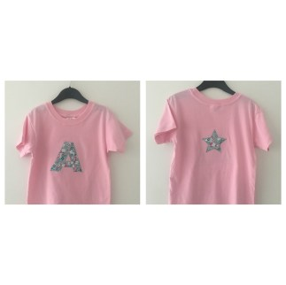 Custom t-shirt in Pink