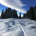 Snowshoeing in Schruns Austria