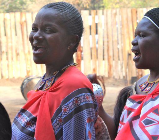 Swazi traditional dancer - Swaziland
