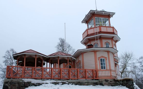 Old Observatory in Oulu, Finland.