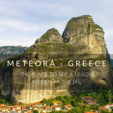 Meteora: THE Place to See a Unique Hidden Monk Jail!