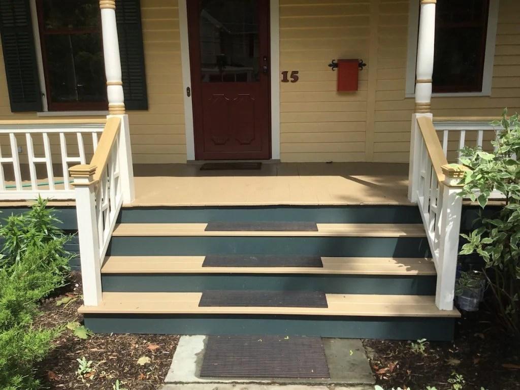Indoor Nj Front Porch Steps Concrete Front Porch Steps S Built To Match Railings Built To Match Railings On New Porch Steps After Porch Steps Rebuild houzz-03 Front Porch Steps
