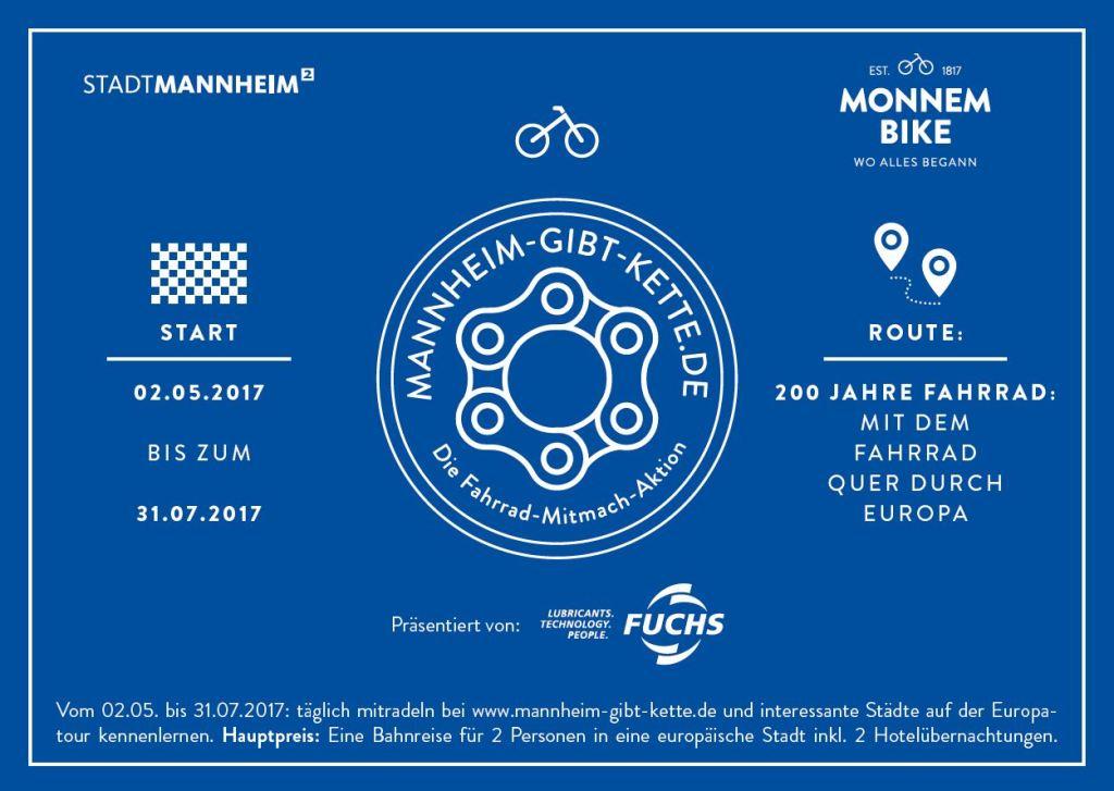 Mannheim gibt Kette 2017