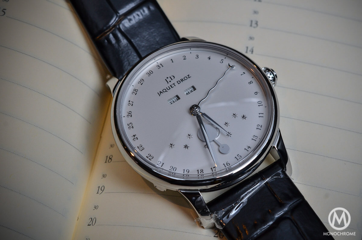 Jaquet droz the eclipse silver full calendar moon phase 1 - Knights of the round table watch price ...