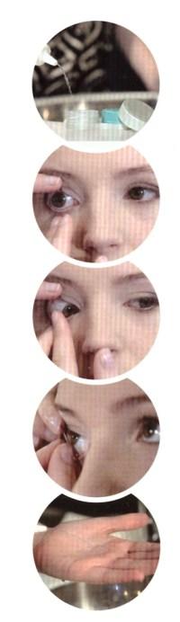Kako odstraniti kontaktne leče