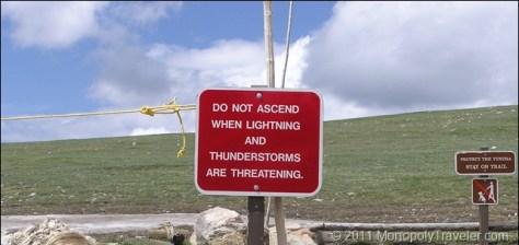Lightning Warning