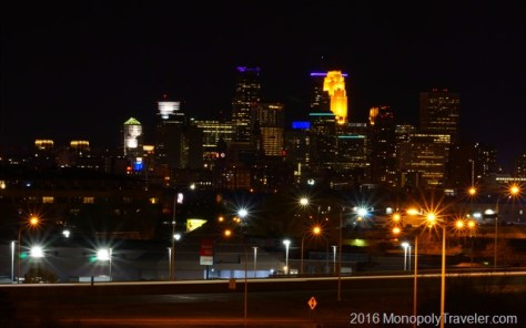 Minneapolis from the north side of the city