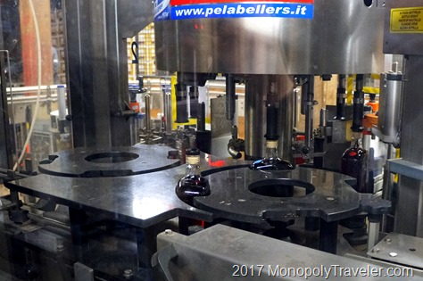 Sealing and labeling each bottle