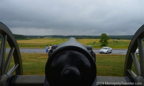 Looking Over the Battlefield of Gettysburg