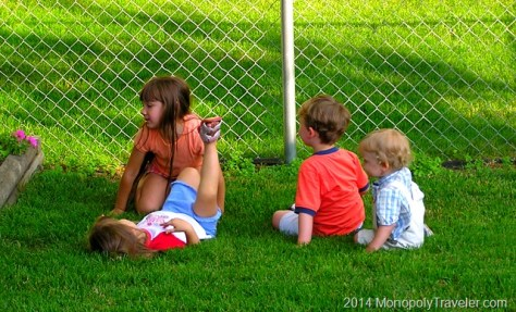 Kids Enjoying a Summer Day