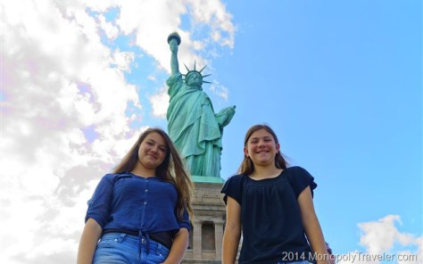 Exploring the Statue of Liberty 2014