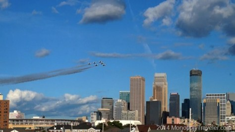 Thunderbirds Over Minneapolis