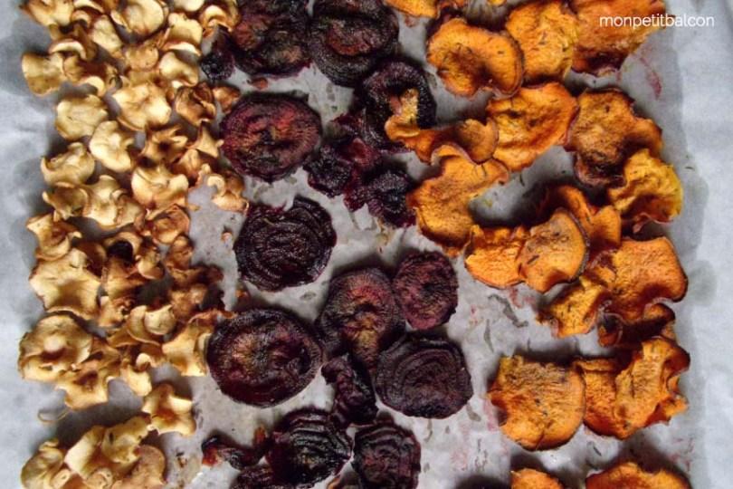 chips aux légumes recette pour un picnic zero déchet