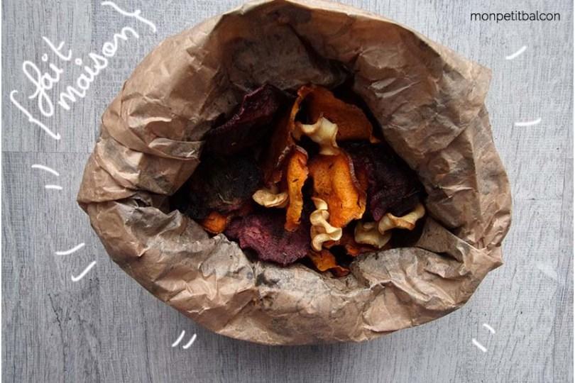 chips de patate douce chips aux légumes recette pour un picnic zero déchet