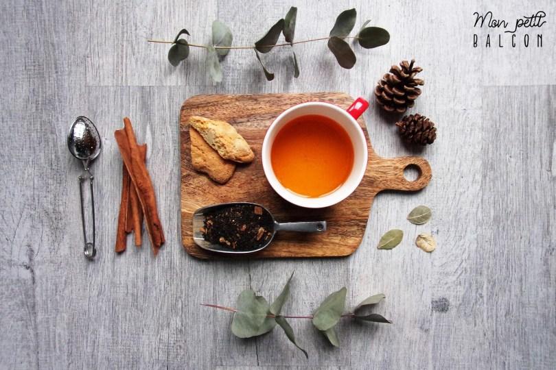 recette thé de noël maison épicé