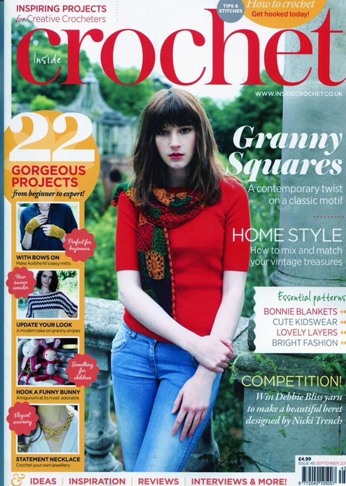 New Inside Crochet issue…