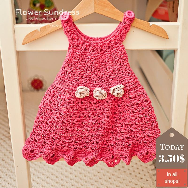 Crochet Flower Sundress to make this summer!