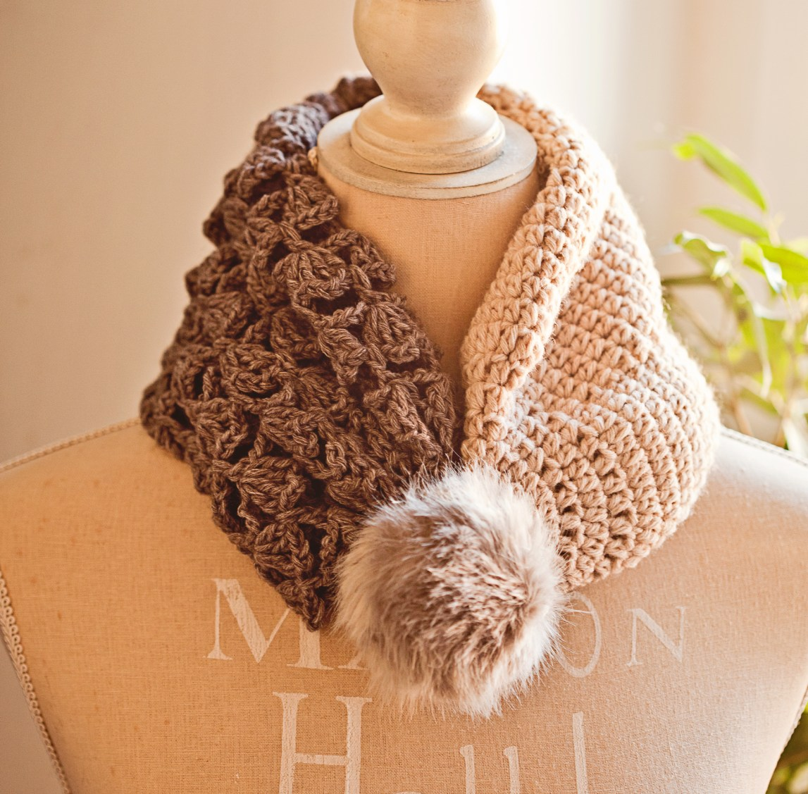 Double Layer Hat - Cowl