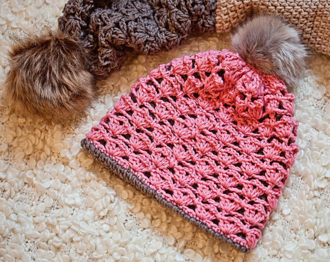 Double Layer Hat - Cowl, crochet pattern by Mon Petit Violon