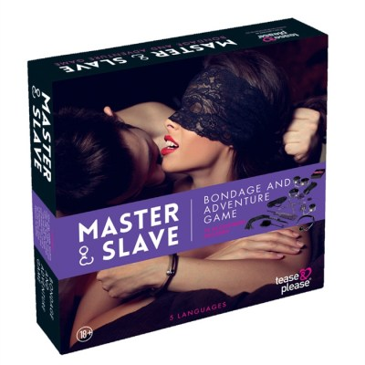 Master and Slave - Bondage et Jeu d'Aventure pour Couple - Tease and Play
