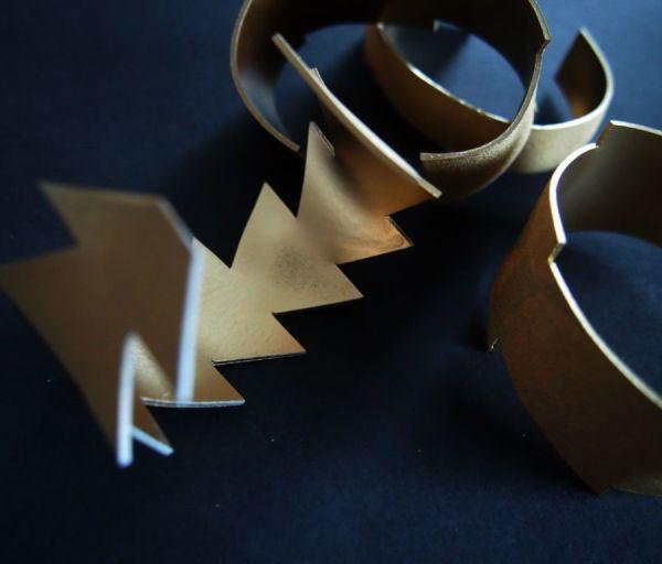 Shrink plastic bracelets