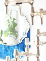 DIY Fringe Mirror