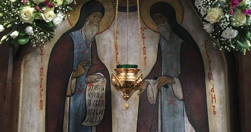В день памяти преподобных Сергия и Германа Валаамских.