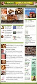 Allergy Website & WordPress Theme